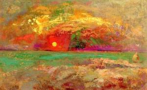 Tramonto Odilon Redon (1840 – 1916)