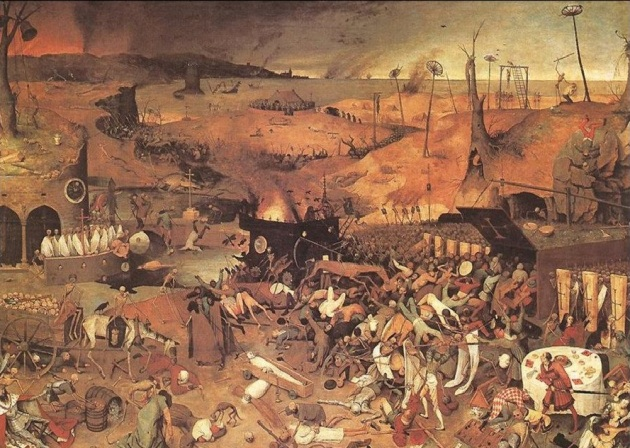 Pieter Bruegel il Vecchio, The Triumph of Death, 1562. Madrid, Museo del Prado